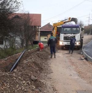U toku rekonstrukcija cjevovoda u naselju Plane