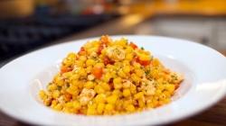 Ukusna salata sa kukuruzom