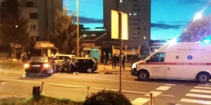 Tri osobe povrijeđene u teškoj saobraćajnoj nesreći u Tuzli