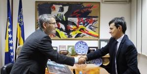 Gradonačelnik Tuzle se susreo sa ambasadorom Italije u BiH