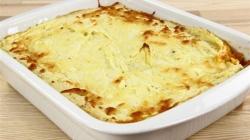 Recept za jednostavno i ukusno jelo: Zapečeno mljeveno meso s pire krompirom