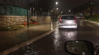 Haos u Splitu: Vjetar nosi sve pred sobom, puše brzinom od 114 kilometara na sat