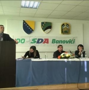 SDA provodi unutarstranačke izbore širom BiH: Bego Gutić ponovo na čelu odbora u Banovićima