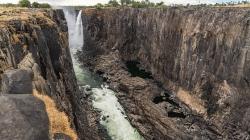 """Presušili Viktorijini vodopadi: """"Ovo smo prvi put vidjeli. Nije bilo ovako"""""""