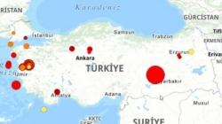 Jak zemljotres pogodio Tursku: Izmjereno 6,8 stepeni po Rihteru