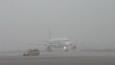 Otkazani letovi sa aerodroma u Sarajevu zbog guste magle i smoga