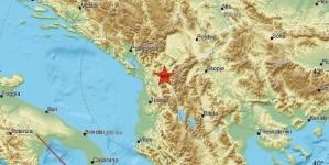 Jak zemljotres jačine 4,4 stepena po Richteru pogodio Albaniju