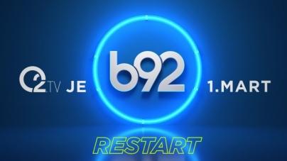 Televizija O2 u Srbiji se od 1. marta ponovo zove b92