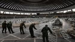 Najveća dvorana Beogradskog sajma postaje bolnica za zaražene koronavirusom