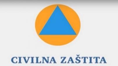 Kantonalni štab civilne zaštite: Zabrana kretanja od 20:00 do 05:00 sati