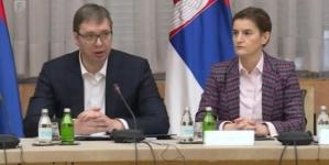 Vučić: Od ove srijede u 20 sati do 5 ujutru zabrana kretanja