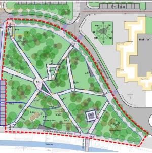 Počeli radovi na uređenju parka u naselja Sjenjak