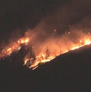 Veliki dio šume u plamenu: Tuzlanski vatrogasci još uvijek gase požar