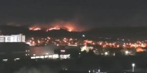 Veliki požar iznad Tuzle!