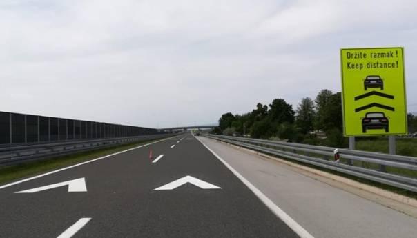 Na hrvatskim autocestama novi znakovi, razmak između vozila 70 m