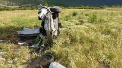 Teška saobraćajna nesreća na putu Mostar-Jablanica, povrijeđen načelnik Konjica