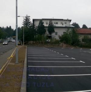 Početak naplate usluge parkiranja na parkiralištima Gradina 1 i Gradina 2