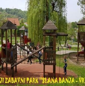 """Dječiji zabavni park """"Slana banja"""" danas počinje sa radom"""