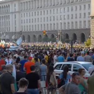 Hiljade demonstranata u Bugarskoj traži ostavku vlade, sukobi s policijom na ulicama