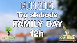 Family Day – Let's Do It Tuzla & Eko život – 2019.