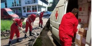 Crveni križ Federacije BiH ugroženom stanovništvu podijelio čizme, deke, lopate…