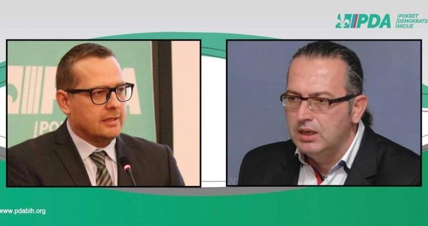 Dr. Alen Kamerić kandidat PDA za gradonačelnika Tuzle