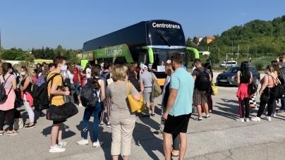 U jeku pandemije 600 mladih autobusima otputovalo na Studentski pohod u Istanbul