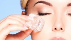 Šest razloga zašto je na kožu lica dobro staviti kockice leda