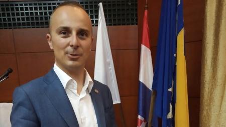 Nikica Vidović nositelj liste HDZ BiH za Gradsko vijeće Grada Tuzla