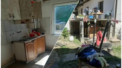 Ostali bez ičega: Pomozimo porodici Mrkaljević da ponovo imaju svoj dom