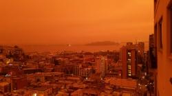 San Francisco izgleda poput Marsa dok se razorni požari šire Kalifornijom