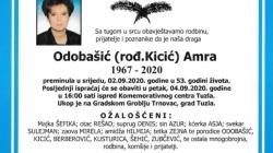 U Tuzli preminula Amra Odobašić dugogdišnja novinarka i uposlenica UKC-a Tuzla