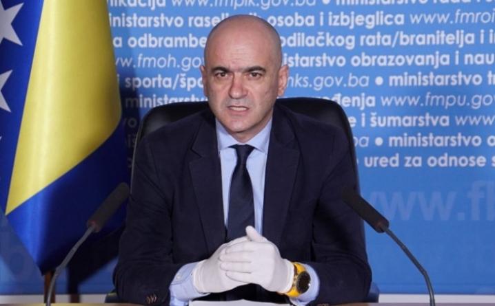 Čerkez: Sve bolnice u roku od 72 sata moraju obezbijediti potrebne kapacitete