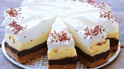 Brzo i bez pečenja: Kinder torta u četiri boje
