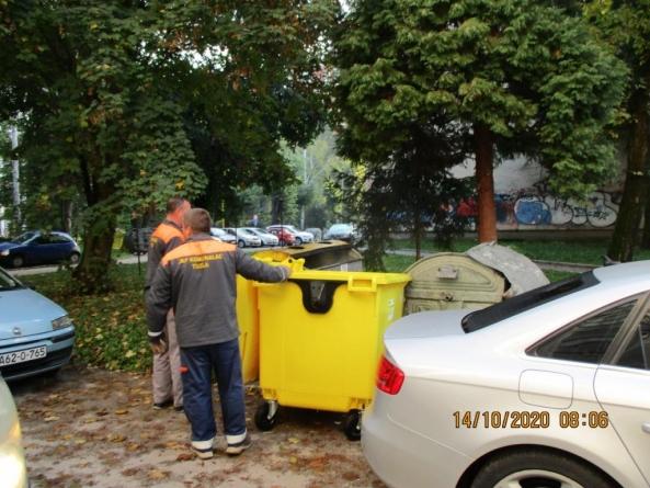 U Tuzli je u toku proširenje uvođenja primarne selekcije za domaćinstva u zgradama