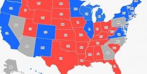 """Izbori u Americi: Kada ćemo saznati rezultate iz država """"u igri"""""""