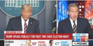 Tri američke TV kuće prekinule Trumpovo obraćanje u 10. sekundi nakon što je kazao da je pobjednik
