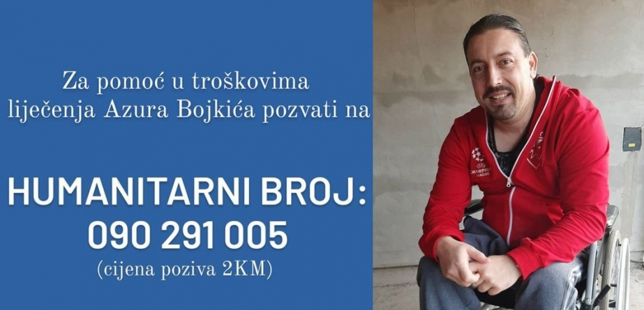 Azur Bojkic iz Lukavca treba našu pomoć!