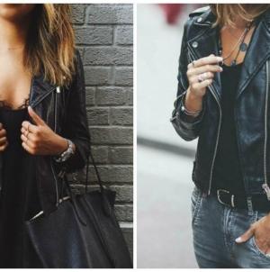 Kožna jakna nikada ne izlazi iz mode