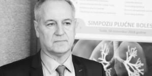 Preminuo dr. Suvad Dedić načelnik Klinike za plućne bolesti UKC-a Tuzla