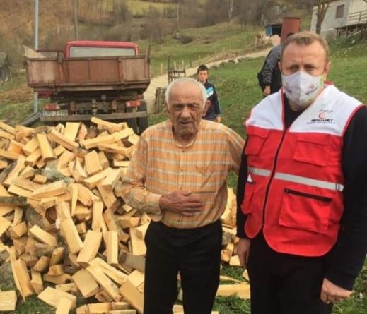Dedo Suljo Halaba dobio pet metara drva