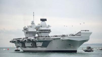 Zbog tenzija Moskve i Kijeva Velika Britanija šalje ratne brodove u Crno more