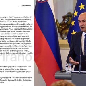 """Slovenski medij objavio """"non paper"""": """"Crno na bijelo"""" plan za komadanje BiH"""
