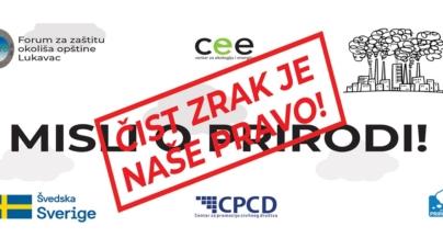 Danas u Lukavcu druga protestna šetnja zbog prekomjernog zagađenja zraka