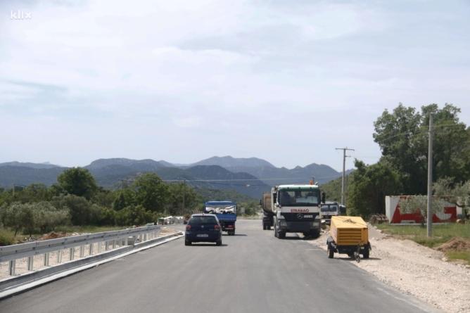 Radovi u punom jeku: Novom cestom građani BiH brže i lakše do mora