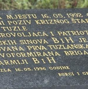 Prva tuzlanska brigada danas obilježava 29 godina od dana formiranja