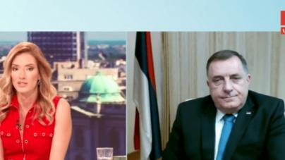 """Dodik za srbijanske medije: Vrijeme je za razgovor o """"mirnom razlazu"""""""