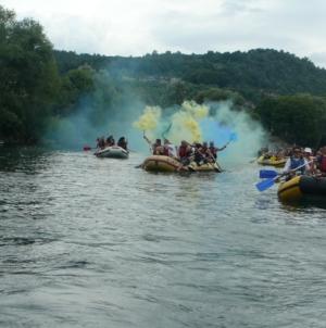 Članovi Eko-ronilačke grupe invalida učestvovali na regati u Bosanskoj Krupi